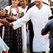 Congress workers greet Sonia Gandhi, Rahul Gandhi 07