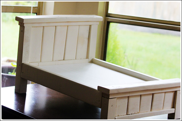 Farmhouse Doll Bed 1