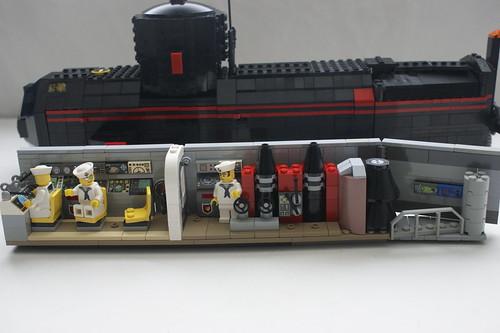 HMS Rascal Interior