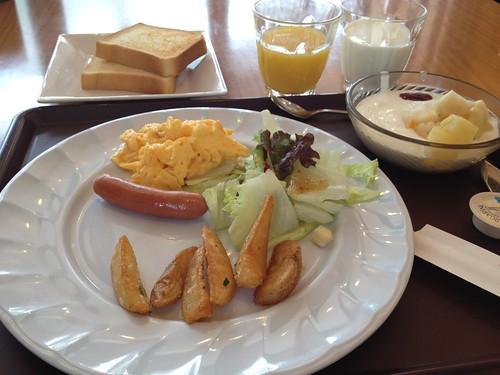 ホテル ザ ビー赤坂の朝食です by haruhiko_iyota