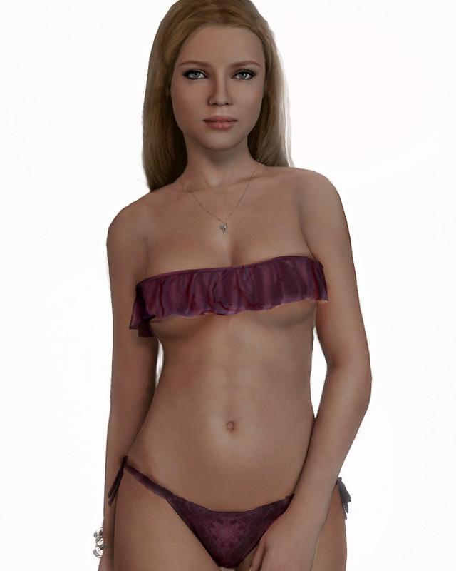 Frill Bikini from Sn@tch