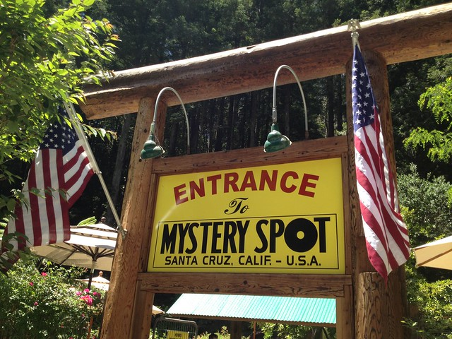 The Mystery Spot sign