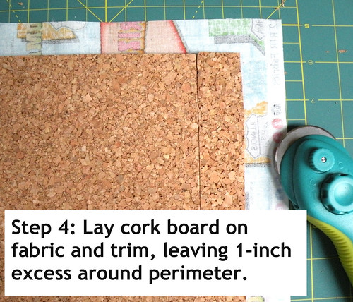 4my3boyz Cork Board Project