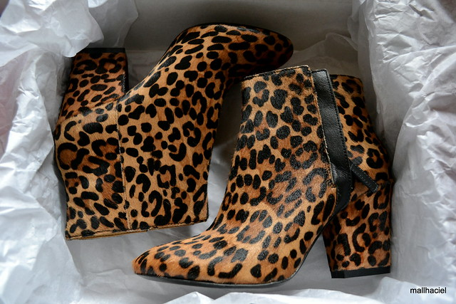Nine West Leopard Print Boots