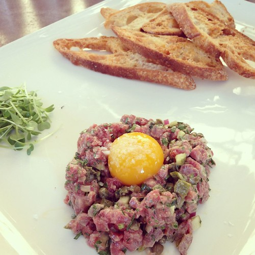 Farmstead steak tartare