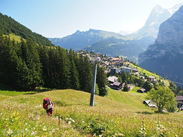 Paragliding in Murren