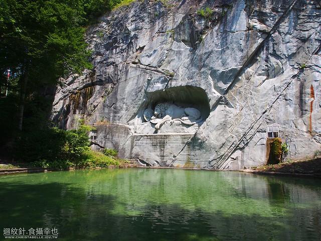 Lion Monument 獅子紀念碑  琉森 Lucerne / Luzern