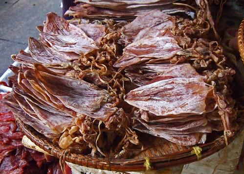 Dried Cuttlefish - Psar Thmei, Phnom Penh