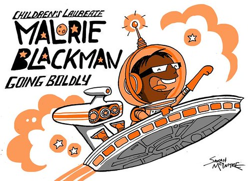 Malorie Blackman by Sarah McIntyre