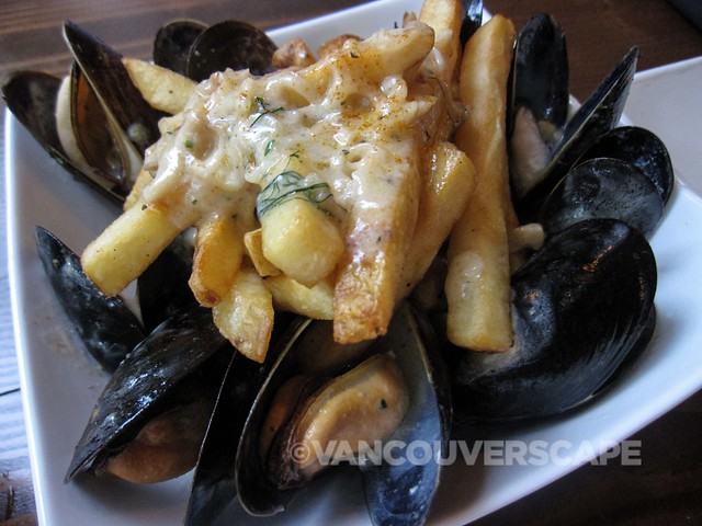 Catch 122 Vancouver Island mussels with fries