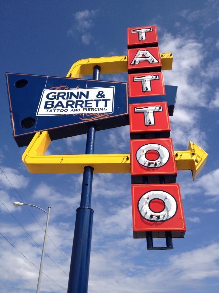 Grinn Barrett Tattoo Jen Beirolas Tattooo Studio In Oma