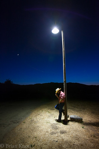 california ranch blue light sky people moon man hat night twilight cowboy glow desert astrophotography hour brianknott forgetmeknottphotography fmkphoto