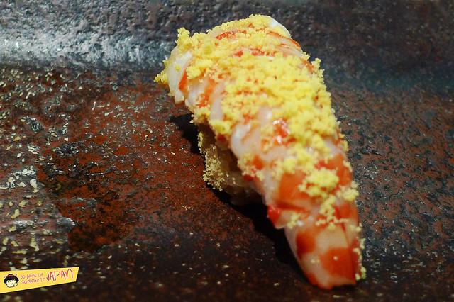Sushi Sho - Tokyo - Cooked shrimp roe head powder