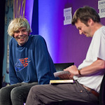 Charlatans front man Tim Burgess in conversation with Ian Rankin |