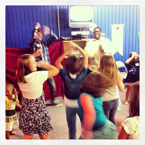 Crazy, joyful, dancing worship!