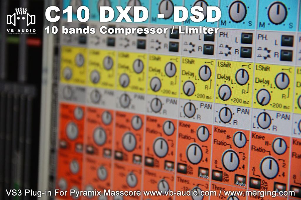 VB-Audio C10 DXD-DSD   VB-Audio C10-DXD: 10 bands Compressor