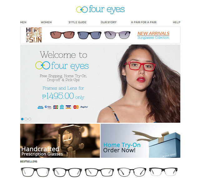 30c0b120cf Four Eyes  The First Online Optical Store in the Philippines - The ...