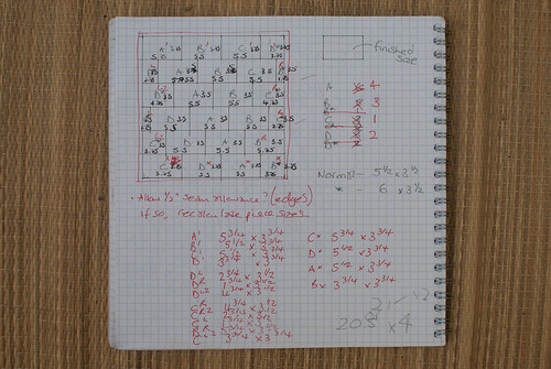 Plans and notes