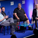 Ben Aaronovitch, Steve Cole and Justin Richards talk Dr Who |