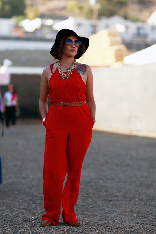 rosejumper_fyf FYF Fest, L.A. State Historic Park, LA, music, street fashion, street style, women