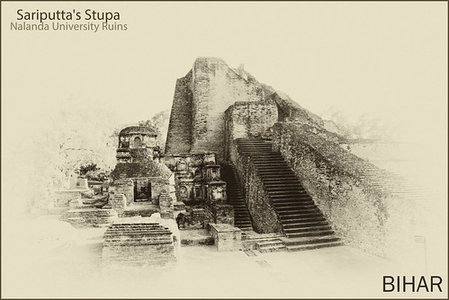 Sariputta's stupa by saish746