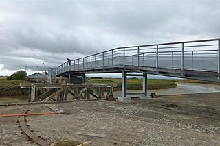 Charron: l'ancien pont du Brault
