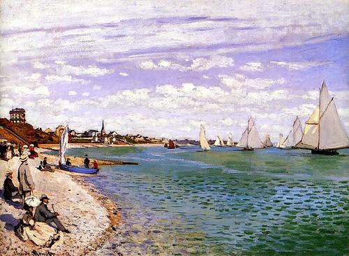 Monet régates a Sainte-adresse