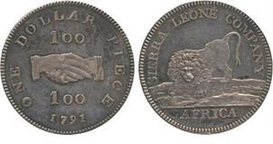 1791 Sierra Leone dollar