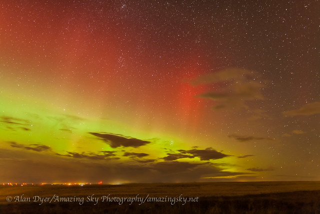 Red Aurora in the East (Oct 1, 2013)