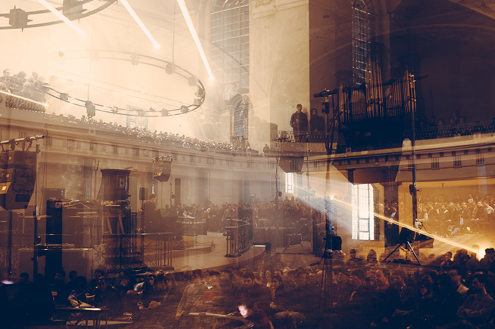 Tim Hecker @ St John at Hackney, London 19/09/13
