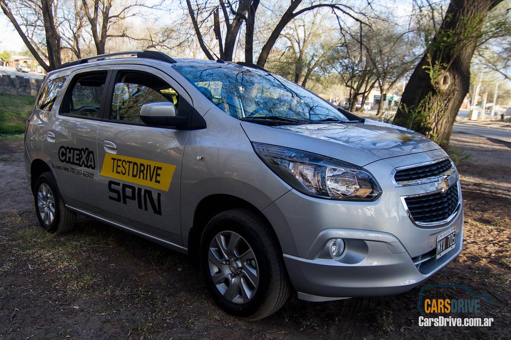 Carsdrive Crdoba Prueba De Manejo Chevrolet Spin Ltz 7 Asientos