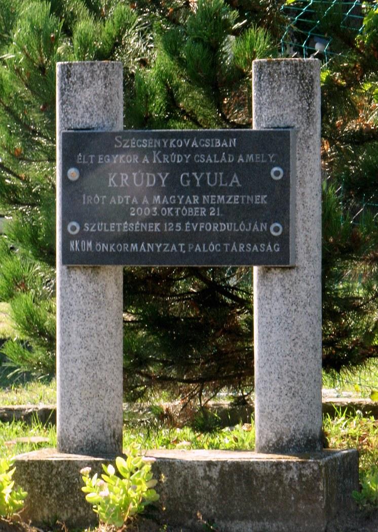 Pamätník G. Krúdymu