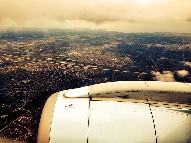 landing in Toronto on my way to Salon LGBTQ in Atlanta