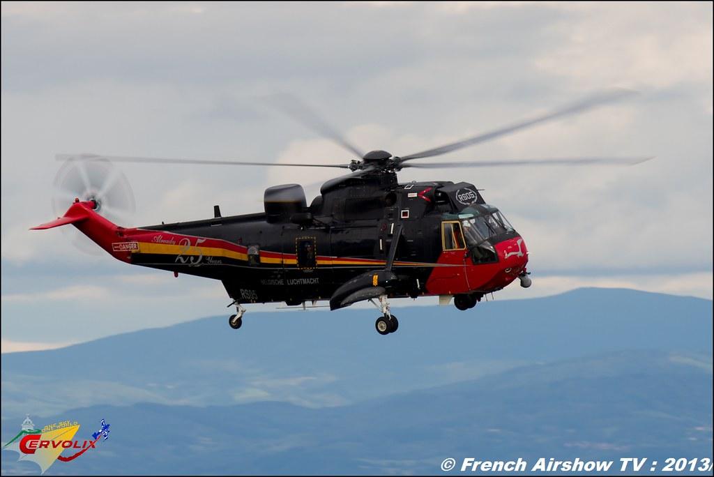 Sea King Mk48 Belge a Cervolix 2013