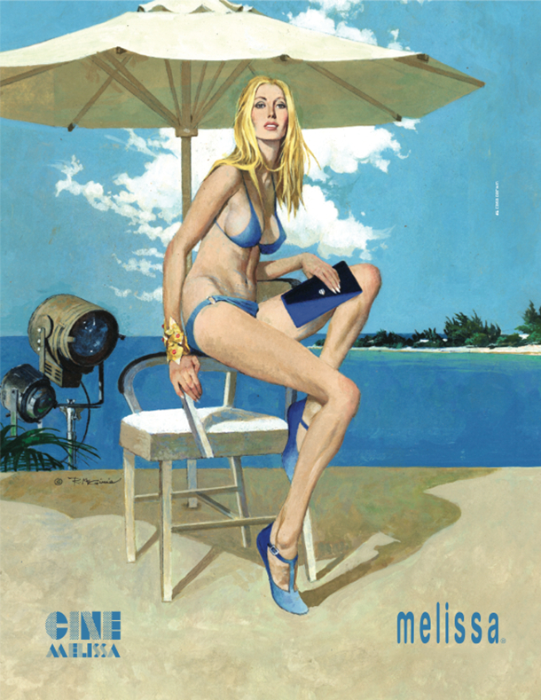 Robert McGinnis for melissa - doris
