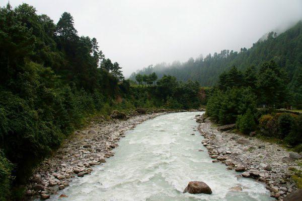 喜马拉雅的河流