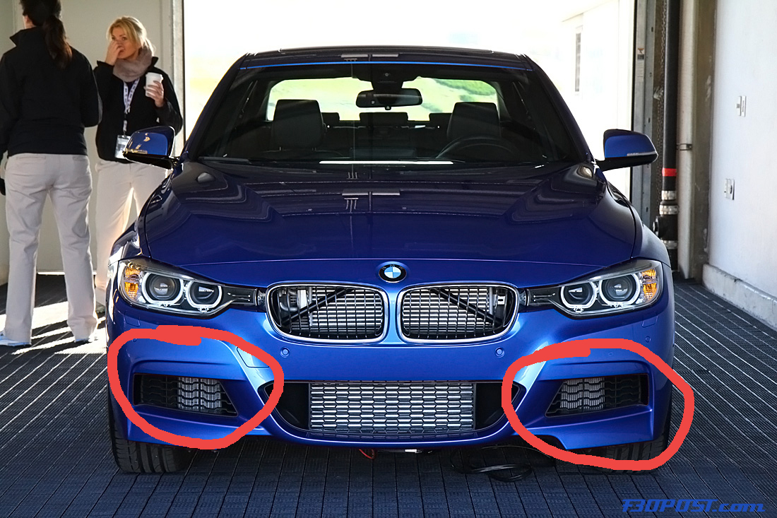 M Sport Front Bumper Plastic Inserts Removal