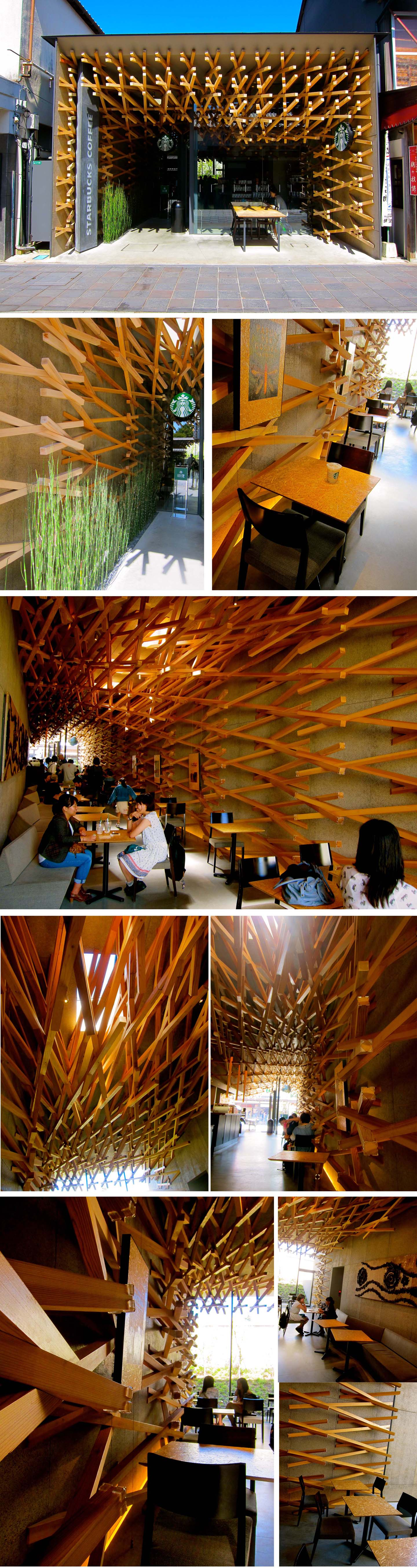 starbucks tenmangu collage small