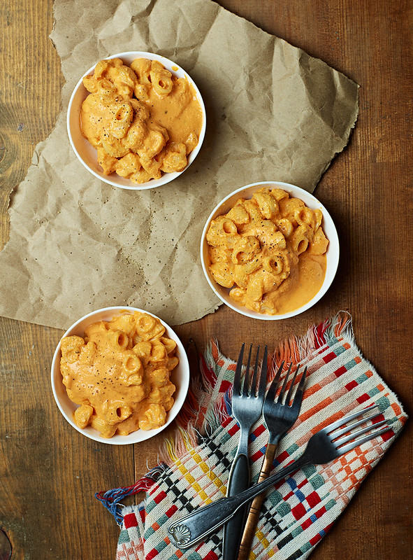 Roasted Red Pepper Mac-N-Cheese