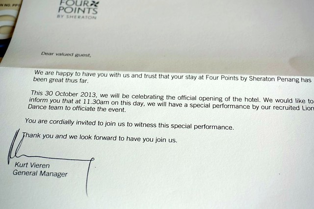 Review of  - Four points by Sheraton Penang-010