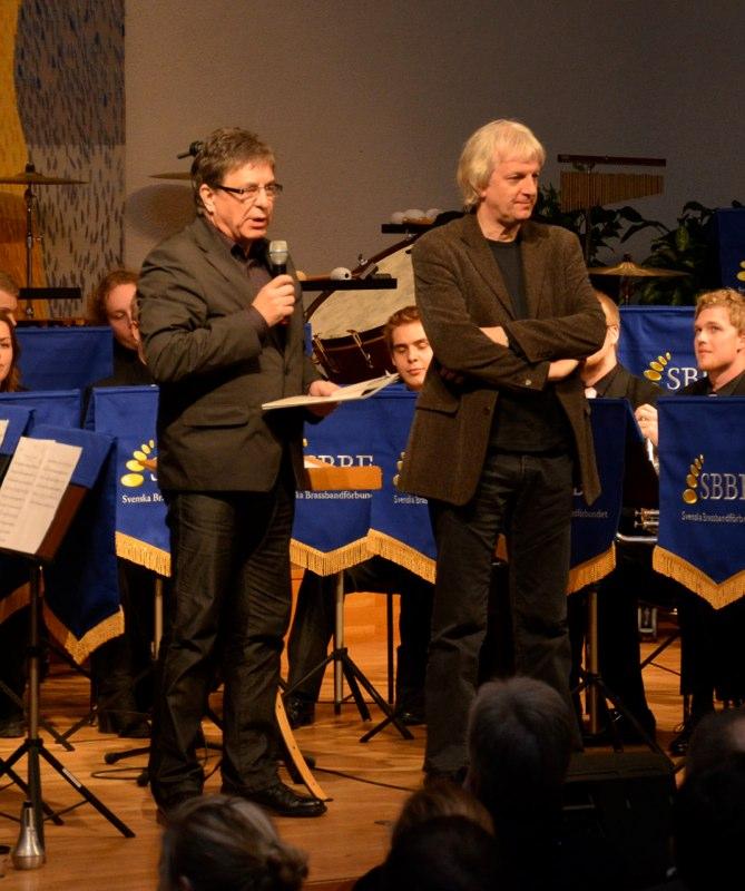 Brassbandfestivalen 2012 - Tom Brevik presenterar årets hedersgäst: Jan van der Roost