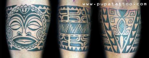 Tatuaje polinesiano, Pupa Tattoo Granada by Marzia PUPA Tattoo