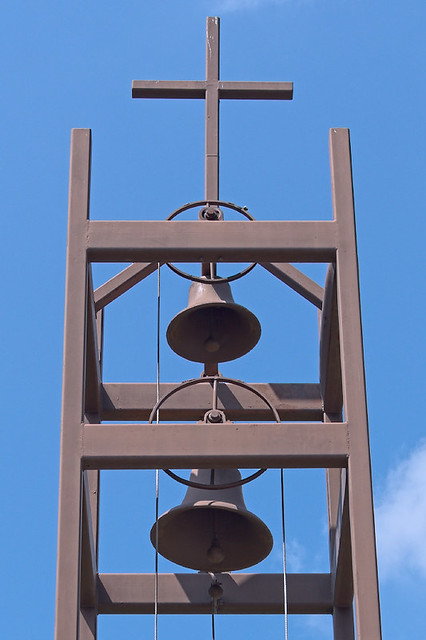 Saint Anthony Roman Catholic Church, in Glennon, Missouri, USA - bells