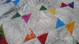 Hand Dyed Quilt 3