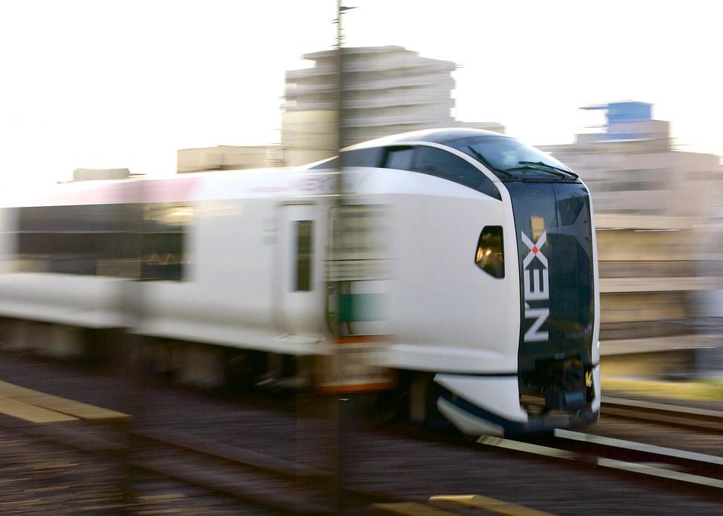 N'EX高速走行中!