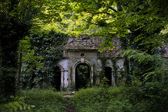 Abandoned Building in Ornolac-Ussat-les-Bains
