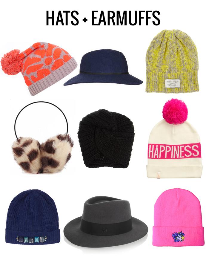 Hats and earmuffs