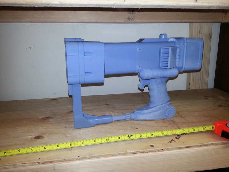 Assembled AEP7 Laser Pistol Prototype