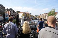 Bootje op de Rijn