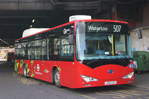 BYD Electric Bus (c) David Bell